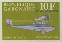 [Airmail - The 1st Anniversary of the Death of Claude Dornier, type IT]