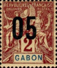 [Issues of 1904-1907 Surcharged - Distance between 0 & 5: 1½mm, Distance between 1 & 0: 2½mm, type L]