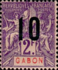[Issues of 1904-1907 Surcharged - Distance between 0 & 5: 1½mm, Distance between 1 & 0: 2½mm, type L11]