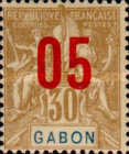 [Issues of 1904-1907 Surcharged - Distance between 0 & 5: 1½mm, Distance between 1 & 0: 2½mm, type L5]
