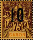 [Issues of 1904-1907 Surcharged - Distance between 0 & 5: 1½mm, Distance between 1 & 0: 2½mm, type L9]