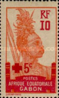[Red Cross - Issue of 1910 Surcharged in Red, type O]