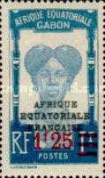 [Issues of 1924-31 Surcharged with New values - Bars over Old Denominations, type R]