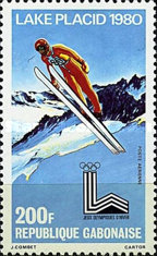 [Airmail - Winter Olympic Games - Lake Placid, type UL]