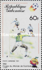 [Airmail - Football World Cup - Spain, type VP]