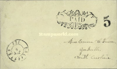 [Handstamped Envelopes, type A]