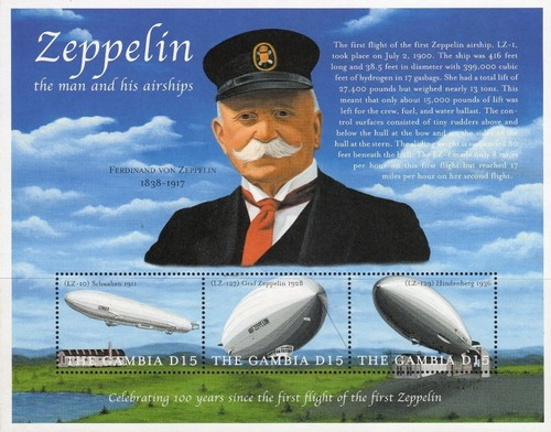 [The 100th Anniversary of First Zeppelin Flight, type ]
