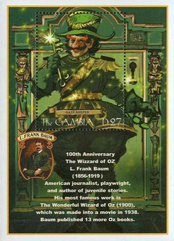 [The 100th Anniversary of Publication of The Wizard of Oz - By L. Frank Baum, type ]