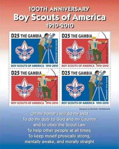 [The 100th Anniversary of the Boy Scouts of America, type ]