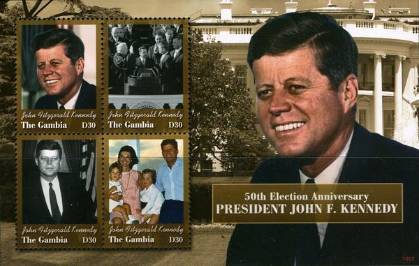 [The 50th Anniversary of the Election of J.F.Kennedy, 1917-1963 as President of the United States, type ]