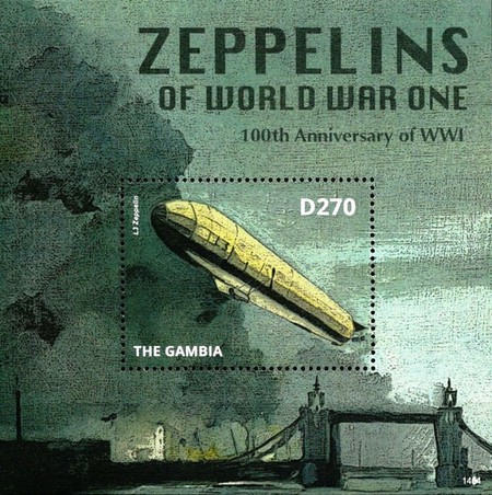 [The 100th Anniversary of the Beginning of World War I - Zeppelins, type ]