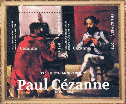 [The 175th Anniversary of the Birth of Paul Cézanne, 1839-1906, type ]
