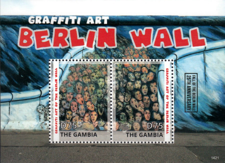 [The 25th Anniversary of the Fall of the Berlin Wall, type ]