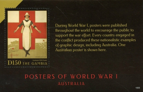 [Posters of World War I - Australia, type ]