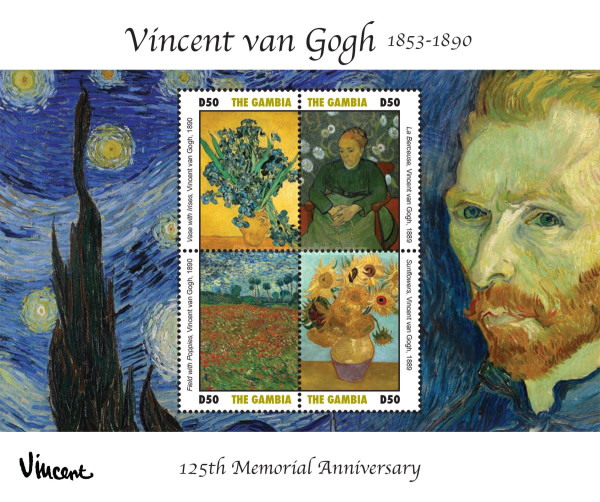 [Painings - The 125th Anniversary of the Death of Vincent van Gogh, 1853-1890, type ]