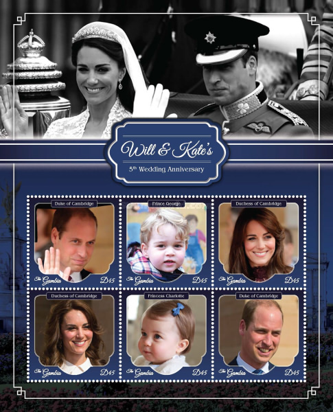 [The 5th Anniversary of the Wedding of Prince William and Kate Middleton, type ]