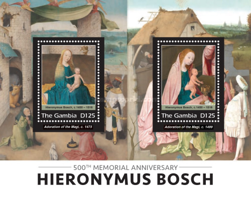 [Paintings - The 500th Anniversary of the Death of Hieronymus Bosch, 1450-1516, type ]