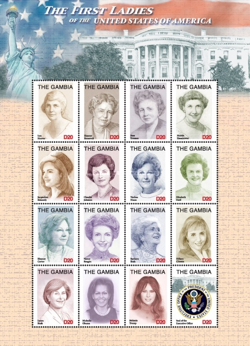 [First Ladies of the United States of America, type ]