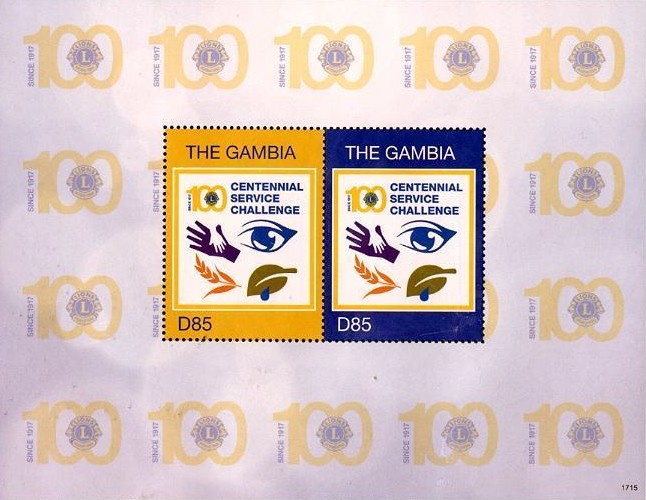 [The 100th Anniversary of Lions Clubs International, type ]