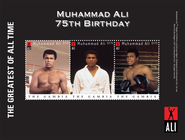 [The 75th Anniversary of the Birth of Muhammad Ali, 1942-2016, type ]