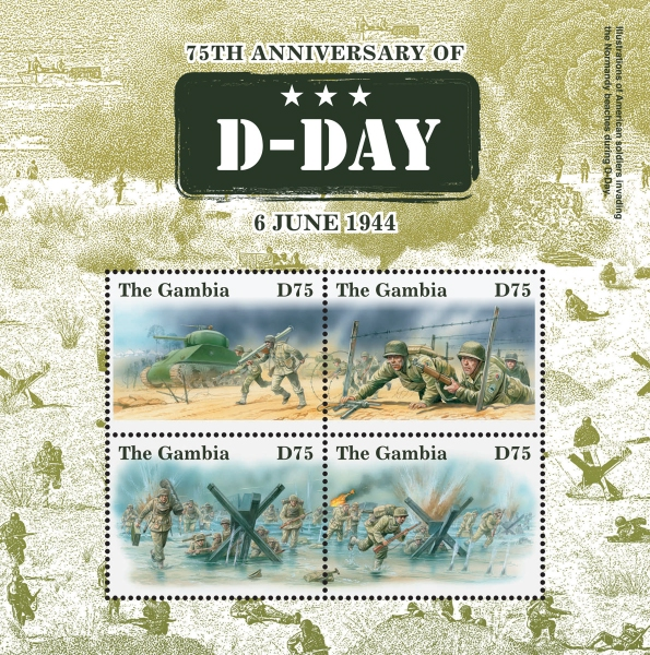 [World War II - The 75th Anniversary of D-Day, type ]