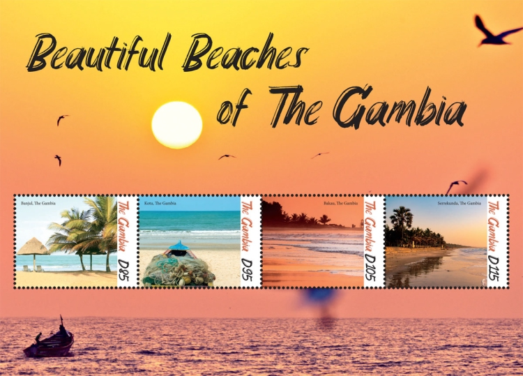 [Beautifil Beaches of The Gambia, type ]
