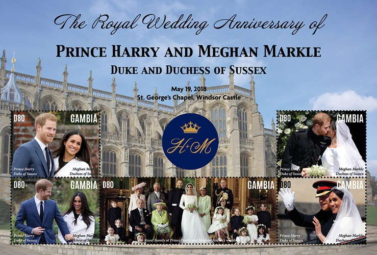 [The 3rd Anniversary of the Wedding of Prince Harry and Meghan Markle, type ]
