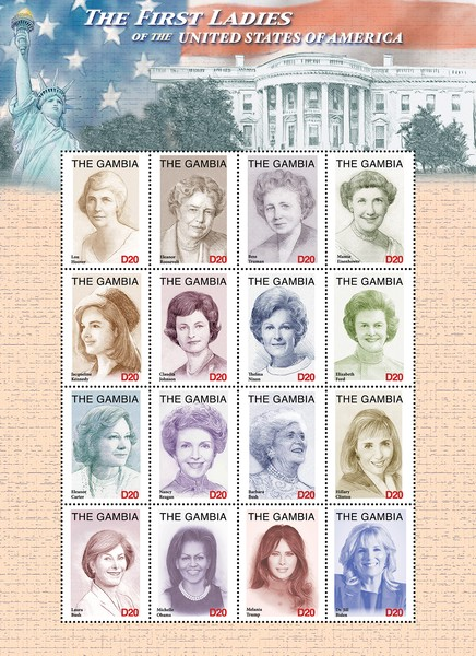[The First Ladies of the United States of America, type ]