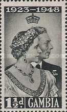 [The 25th Anniversary of the Wedding of King George VI and Queen Elizabeth, type AB]