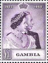 [The 25th Anniversary of the Wedding of King George VI and Queen Elizabeth, type AC]