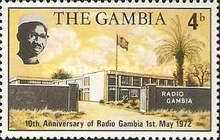 [The 10th Anniversary of Radio Gambia, type DH]