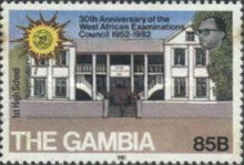 [The 30th Anniversary of West African Examinations Council, type JD]