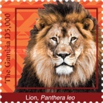 [Definitives - Animals of Gambia, type JLP]