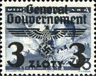 [Polish Postage Stamps Overprinted, Typ D12]