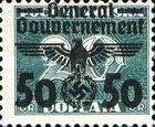 [Polish Postage Due Stamps Overprinted and Surcharged, Typ G]