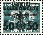 [Polish Postage Due Stamps Overprinted and Surcharged, Typ G3]