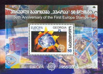 [The 50th Anniversary of the First Europa Stamp, type ]