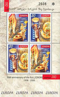 [The 50th Anniversary of the First EUROPA Stamps, 1956-2006, type ]