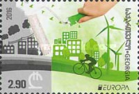 [EUROPA Stamp - Think Green, type AAP]