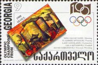[The 100th Anniversary of Modern Olympic Games, type JA]