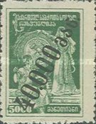 [Issue of 1922 Handstamp Surcharged in Violet or Black - Surcharge 6,2-8mm High, type L6]