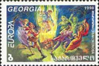 [EUROPA Stamps - Festivals and National Celebrations, type MA]