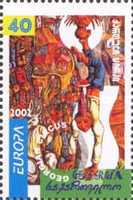 [EUROPA Stamps - The Circus, type PW]