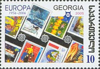 [The 50th Anniversary of the First Europa Stamp, type UC]