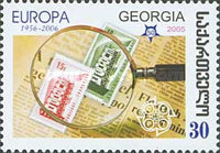 [The 50th Anniversary of the First Europa Stamp, type UE]