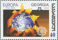 [The 50th Anniversary of the First Europa Stamp, type UF]