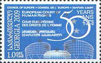 [The 50th Anniversary of European Court of Human Rights, type WU]