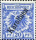 [As Previous Edition - Overprint is 56 Degrees, Typ B3]