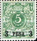 [German Stamps - Overprinted, Typ A1]