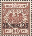 [German Stamps - Overprinted, Typ A4]